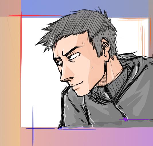 Selfie sketch by xTacitusx