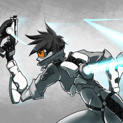 Tracer Greyscale