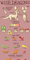 Wish Dragon Species Sheet by Jemanite