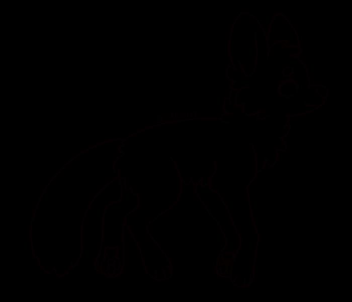 Line Art Fox : Free ms paint friendly fox lineart by jemanite on deviantart