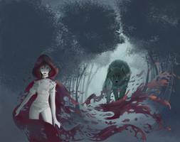 Dark Red by Digiforgetful