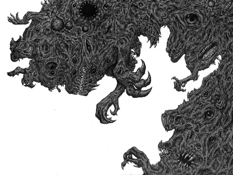 Eldritch Abomination by TheParanoidFreak