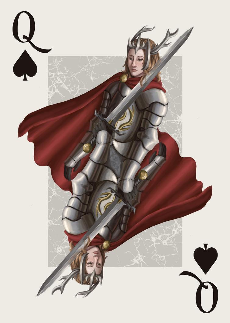 Queen of Spades by TheParanoidFreak