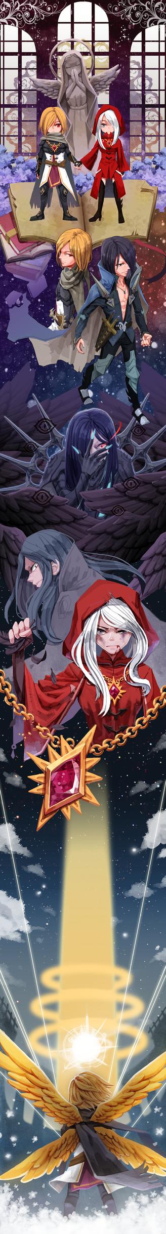 3 Dragons by gonggongee