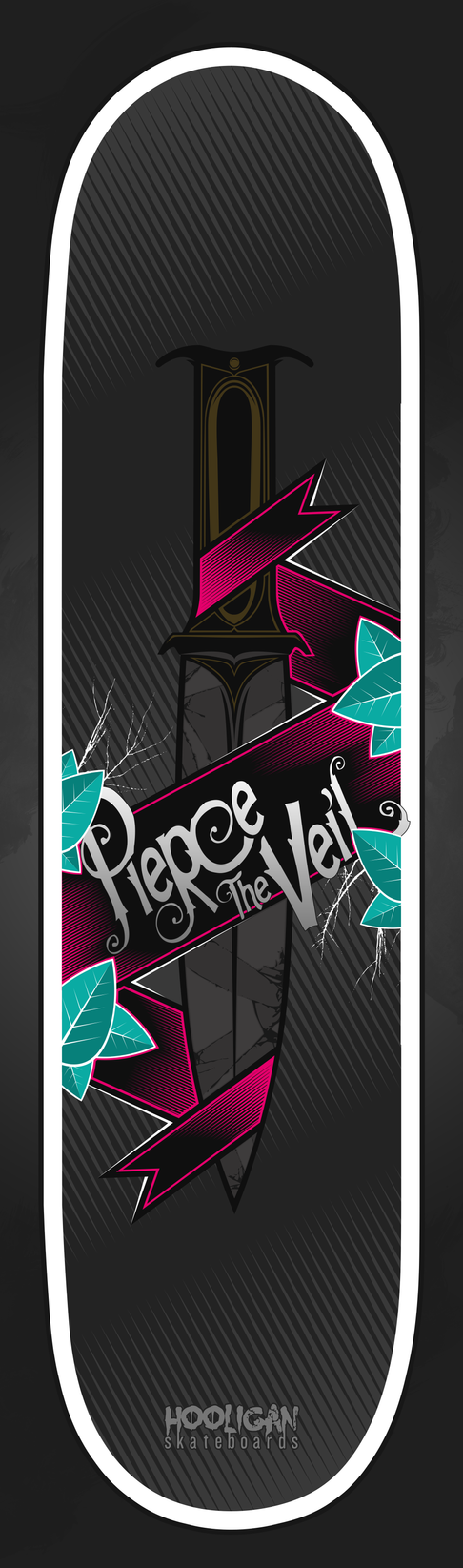 Pierce the Veil Sk8Board by B-boyAlfelor