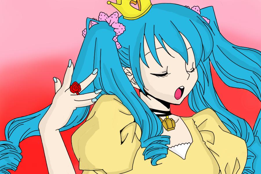 :Hatsune Miku World is mine by thetwigie