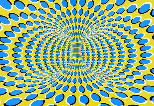 its moving..