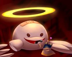 big bad blob friend (with speedpaint!)