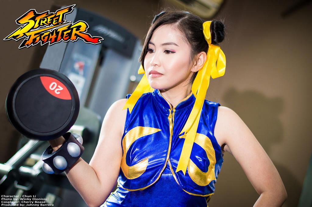 Chun-Li Alpha #3 by CherryB-Cosplay