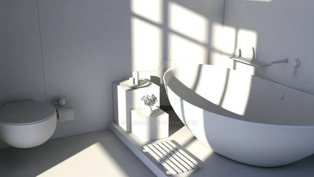Minimal Bathroom WIP