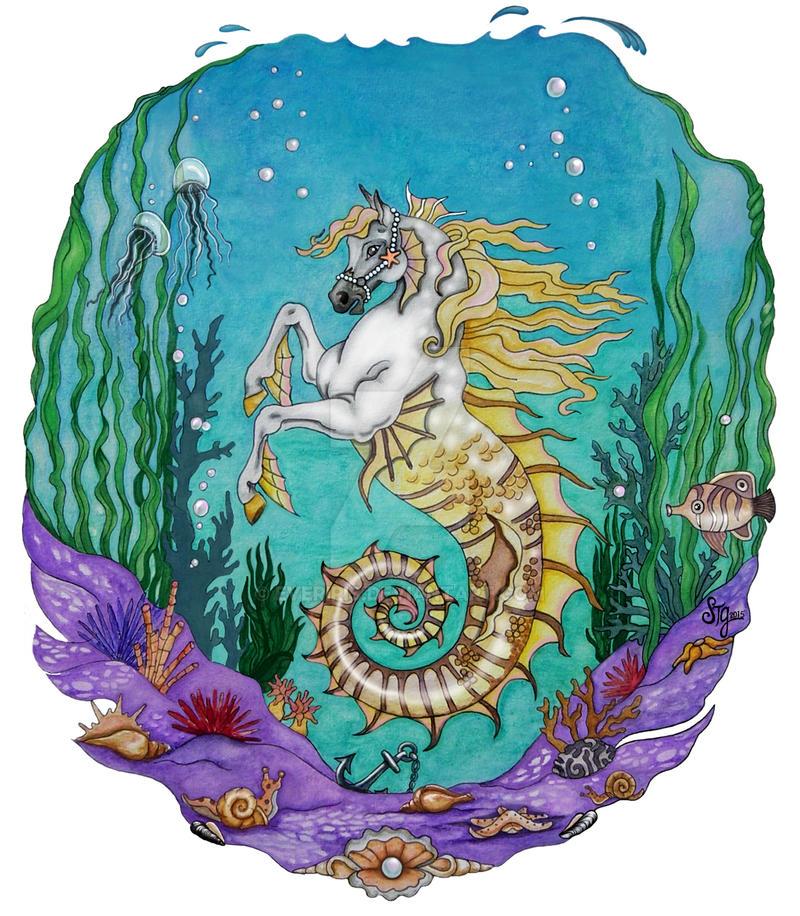 Under Water Horse by EverIris