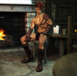 Tavern Elf by NevermoreDesign