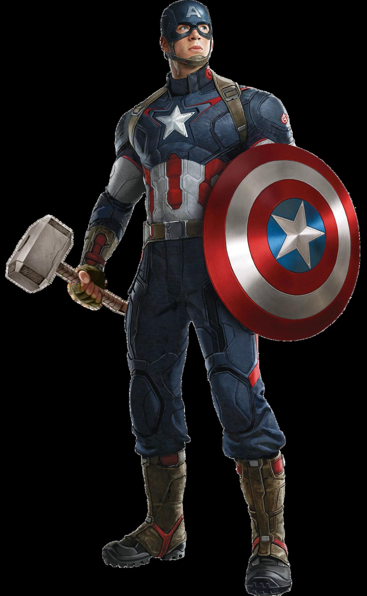 captain america mjolnir 13 by Dani0rions on DeviantArt