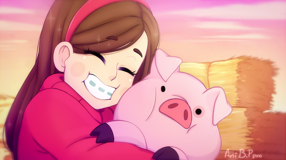 Mabel Y Pato Para Colorear: Mabel And Pato Is Soo Cute By Bananaproduction On DeviantArt