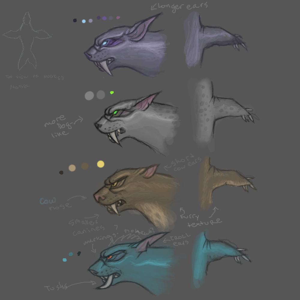 Druid Aquatic Form concepts by SavvyBanani on DeviantArt