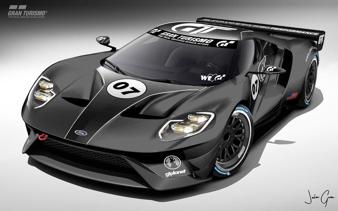 Ford Gt Lm Spec Iii Test Car Pic  By Girabyte Jc Lover
