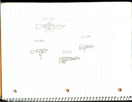 Buncha Random Gun Concepts