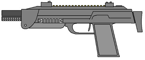 MP7 in Paint from 2006