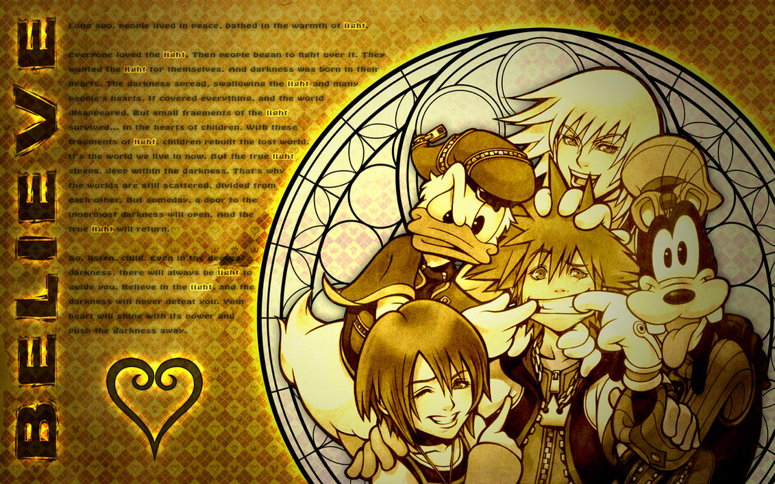 Kingdom Hearts - Believe by KPants