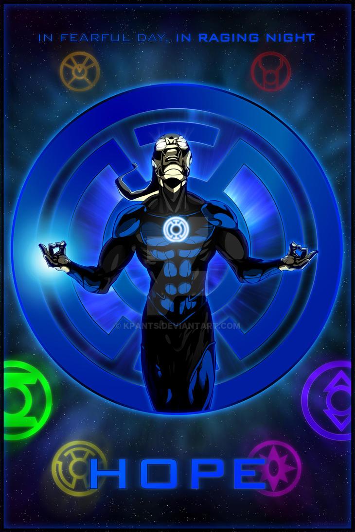 The Lantern Corps - Blue Lantern by KPants