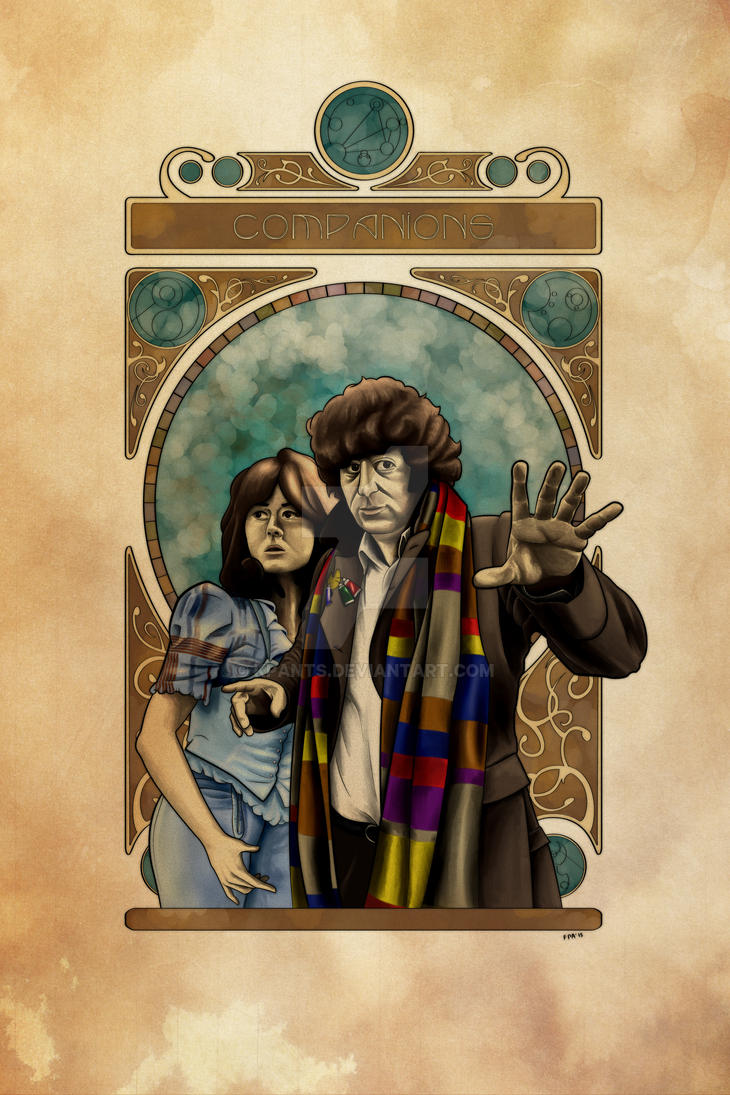 Doctor Who: Companions - Baker and Sarah by KPants