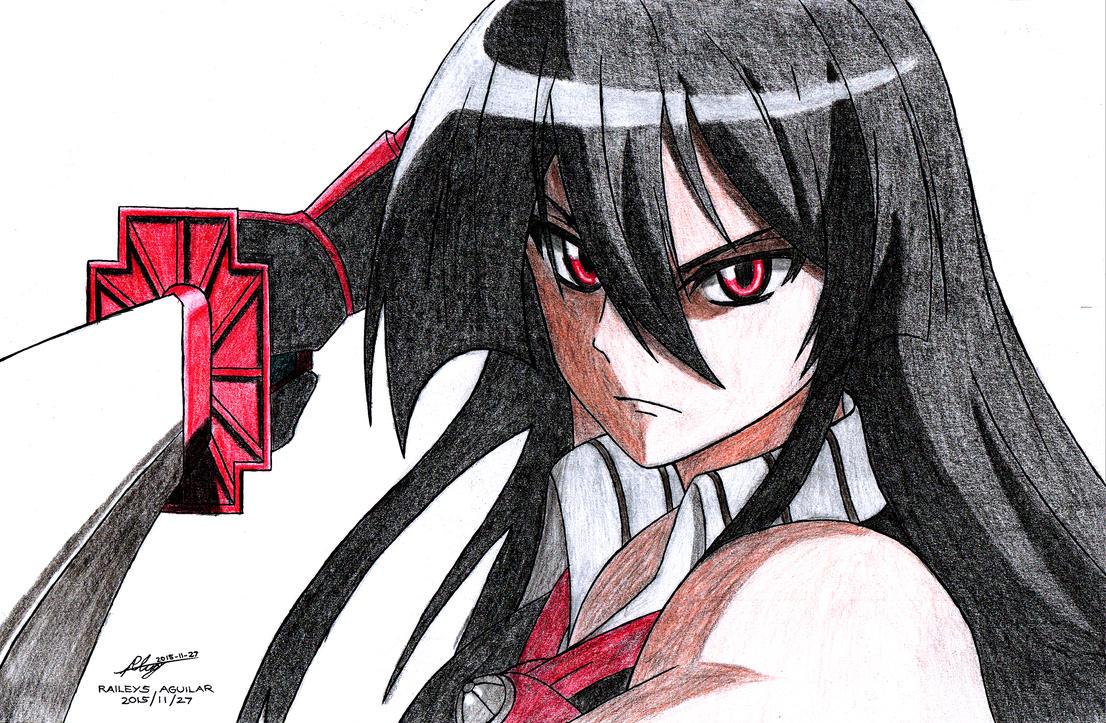 Akame Ga Kill!: Akame By RaileysXerilyasRX On DeviantArt