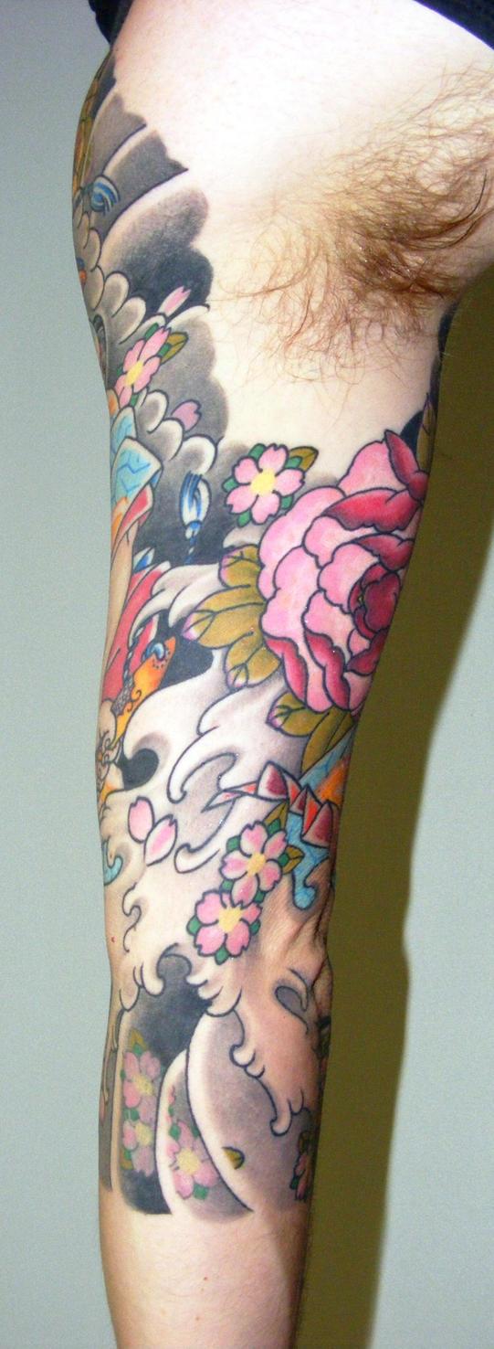 Samurai tattoo finished
