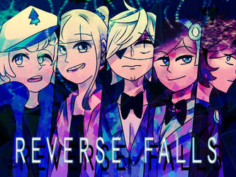 Reverse Falls Cover by DarkCatz