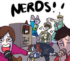 Imagine somes nerds (MEMES) by DarkCatz