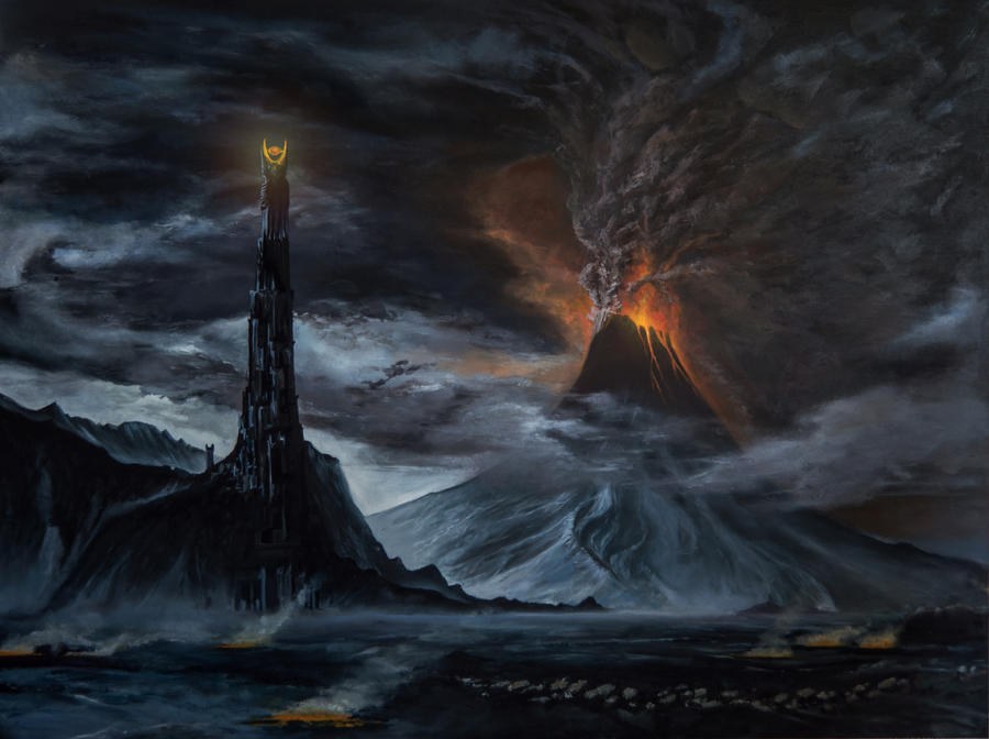Lord Of The Rings Evil Mordor