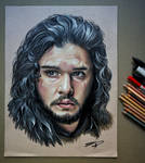 Jon Snow (Kit Harington) Portrait