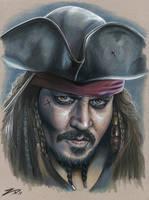 Jack Sparrow by eksdeth