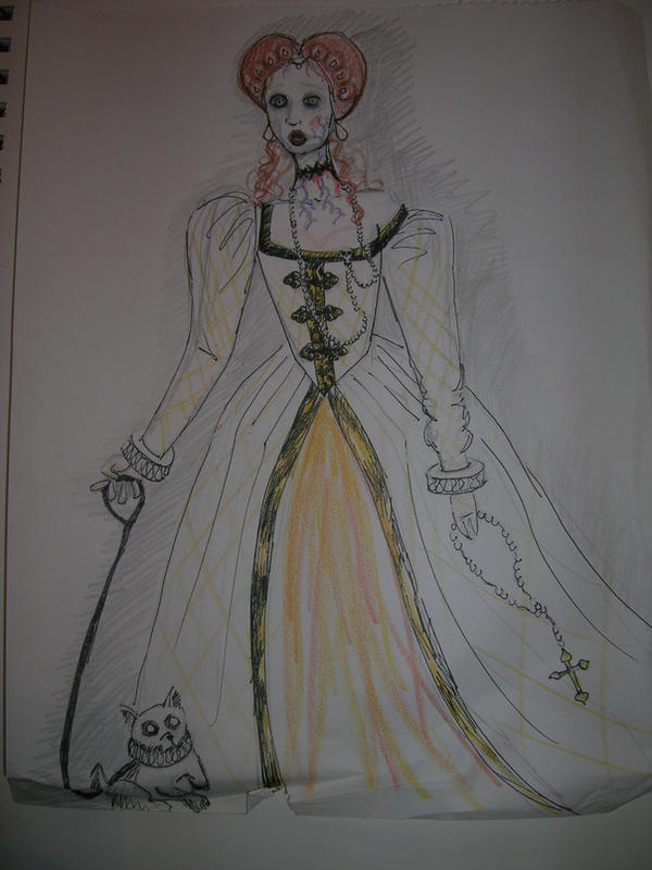 Mary Queen of Scots sketch by ZoSoTheTwirp