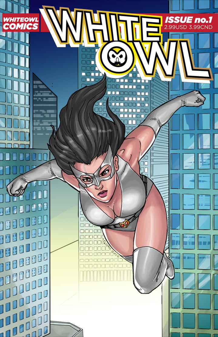 White Owl cover by White0wlsuperheroine