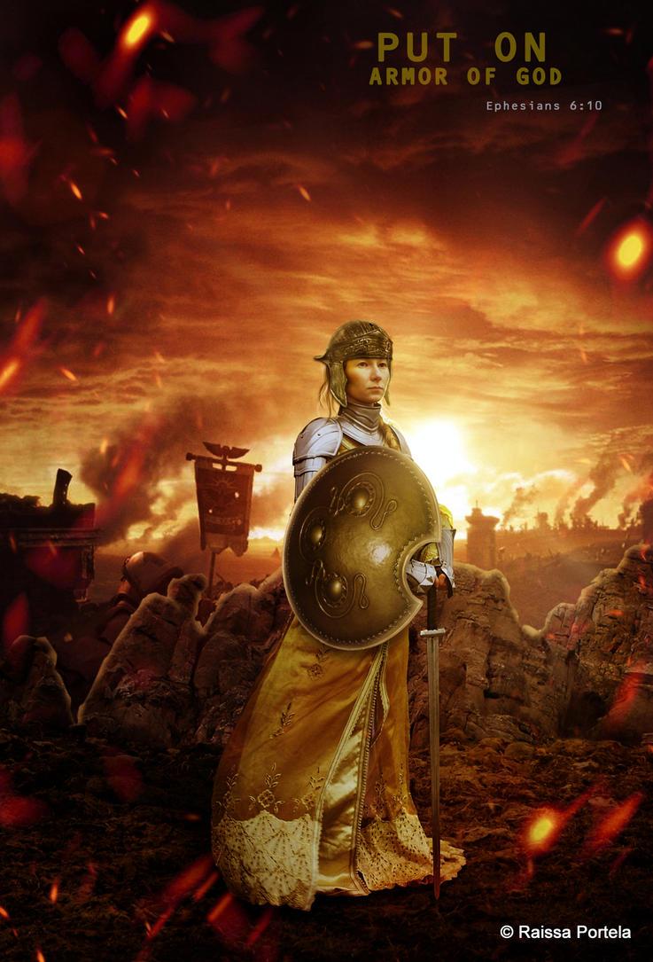 Armor of God by RaissaPortela