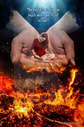 On God's hands