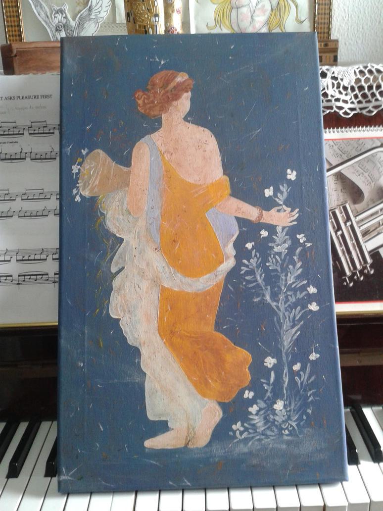Greek woman by toblerone27