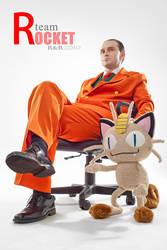 Team Rocket Giovanni by Kifir