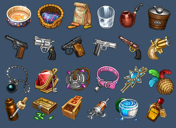 Icons for game