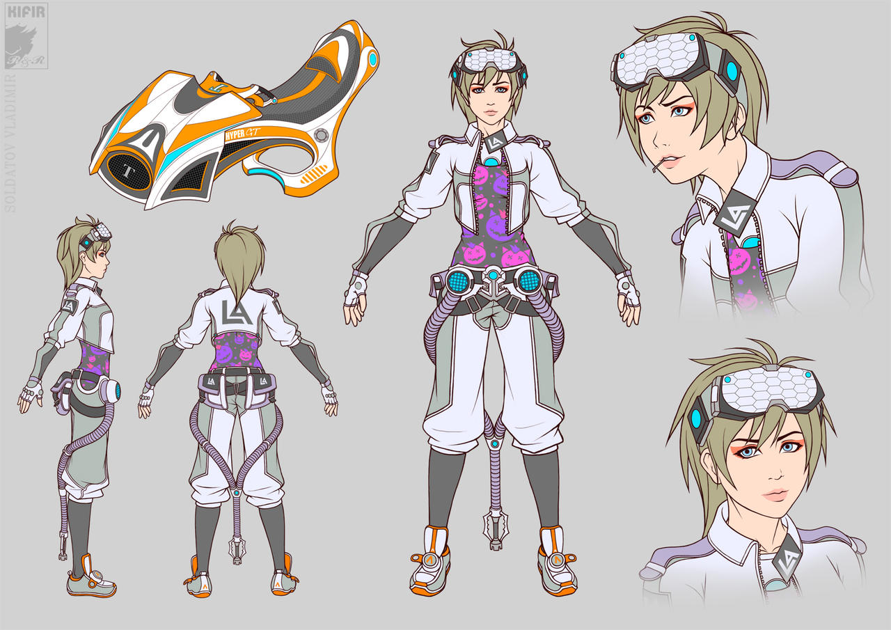 Character design by Kifir