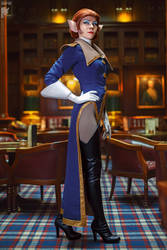 You will address me as Captain or Ma'am by Kifir