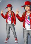 Boy design by Kifir