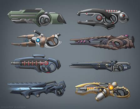 Future guns by Kifir