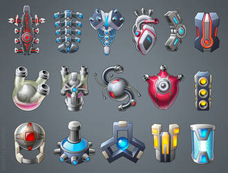 Icons future tools by Kifir
