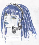 Blue Lolita Gal