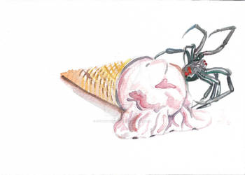 I Scream for Spider Ice Cream