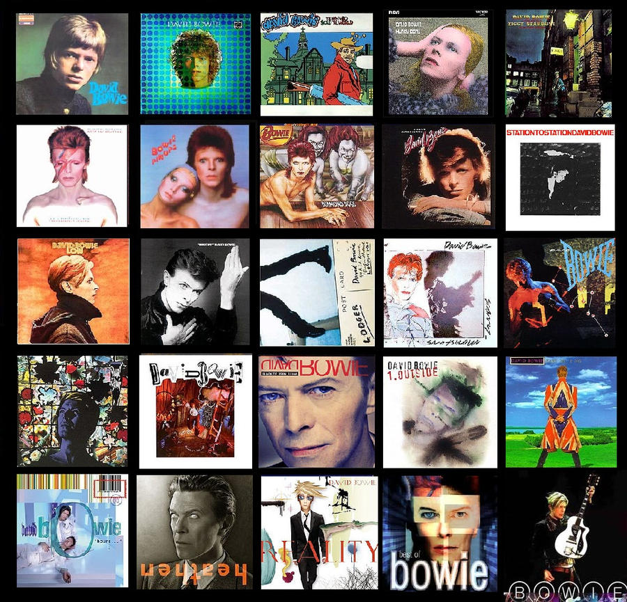 Bowie Albums by TeeStall