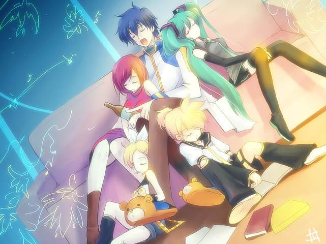 Vocaloids by bAnne-chan