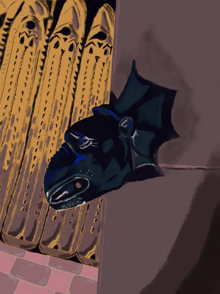 Gargoyle by WillLeffers