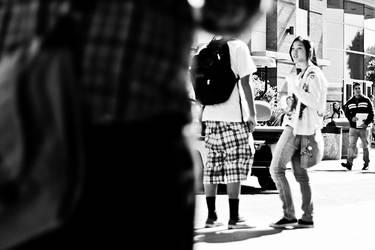 Late for school by fotograffiks